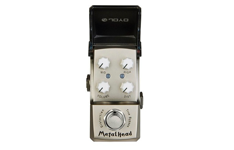 JOYO JF-315 Metal Head Distortion Mini Guitar Pedal True Bypass Guitar Effect Pedal Guitar Accessories nux metal core distortion effect pedal true bypass guitar effects pedal built in 2 band eq tone lock preset function guitar part