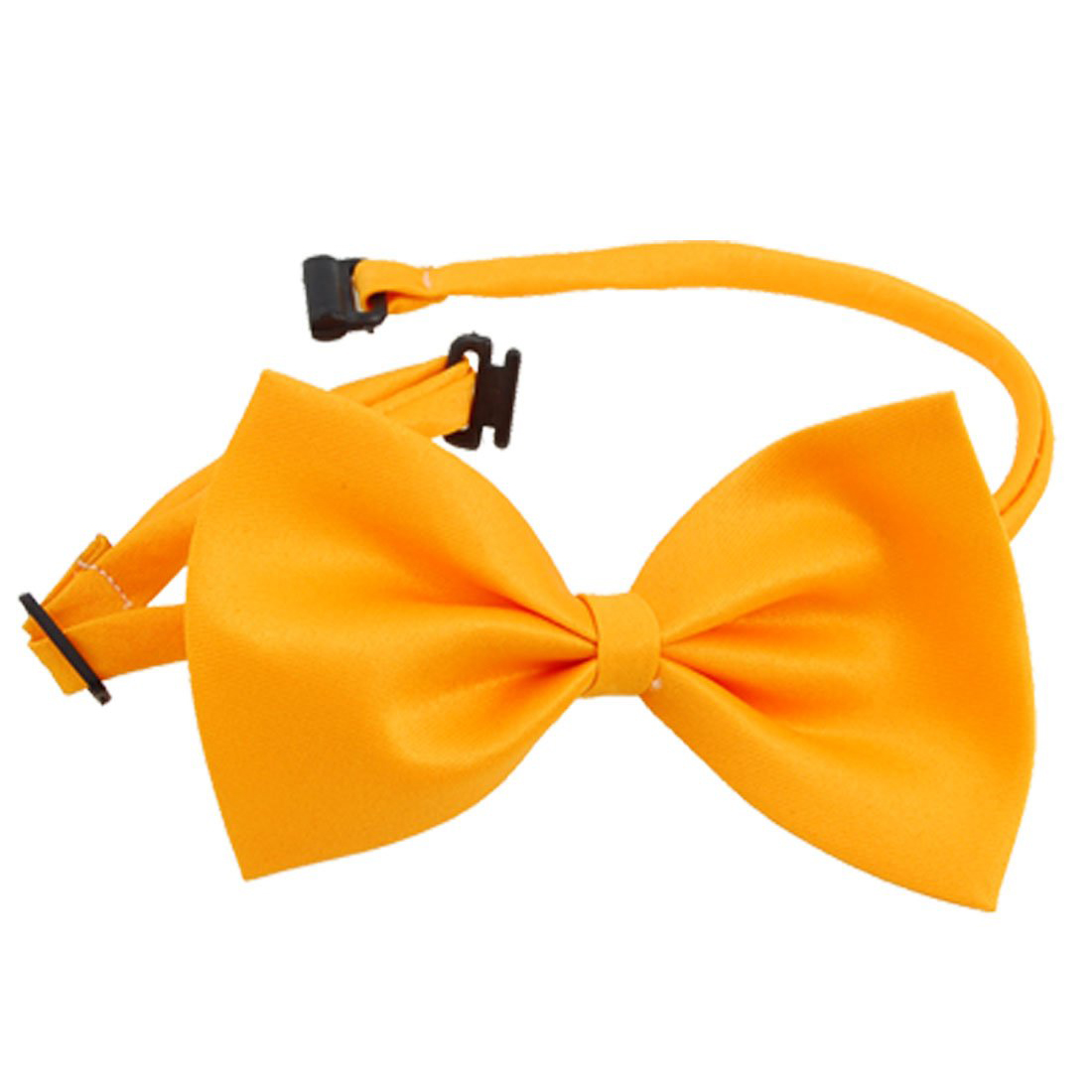 Dog Cat Bow Tie Bowtie Pet Adjustable Collar Orange