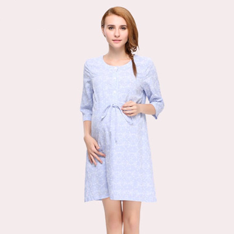 Maternity Summer Dresses Pregnant Women Clothing Vestido ...