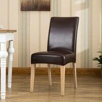 Patroon Stoelhoezen Eetkamerstoelen.Chair Cover Pu Lage Prijs