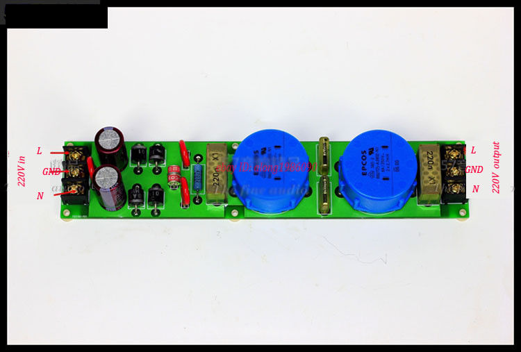 ZEROZONE Audio purification power board improves audio quality /250V 8A for Amp L6-44ZEROZONE Audio purification power board improves audio quality /250V 8A for Amp L6-44