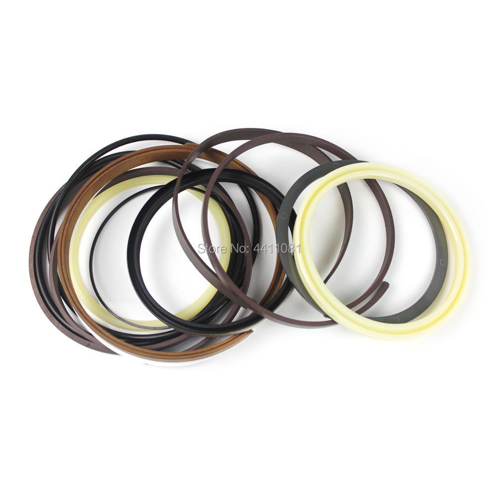 For Hitachi EX160 Arm Cylinder Seal Repair Service Kit Excavator Oil Seals, 3 month warranty for hitachi ex280h 5 arm cylinder seal repair service kit 9161918 9180579 excavator oil seals 3 month warranty