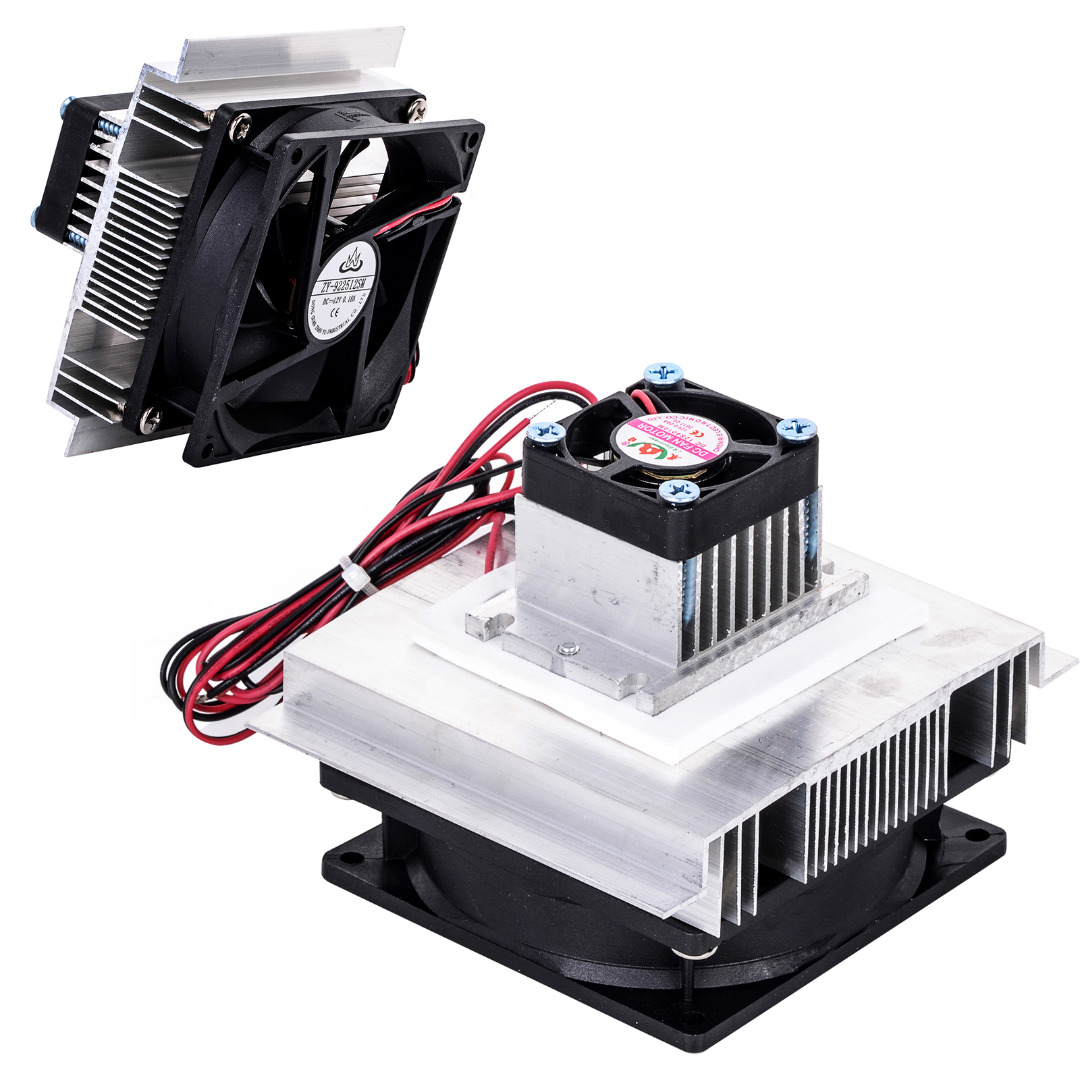 1pc Thermoelectric Refrigeration Cooling System Kit Semiconductor Cooler Fan TEC-12706 Mayitr Electronic DIY Tools kitavawd31eccox70427 value kit avanti tabletop thermoelectric water cooler avawd31ec and glad forceflex tall kitchen drawstring bags cox70427