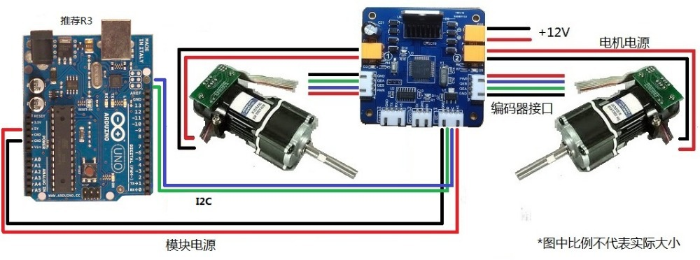 Arduino pid servo motor control for Dc motor servo controller