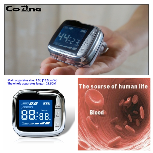 blood circulation watches blood pressure control electrical device to reduce blood pressure wrist watch