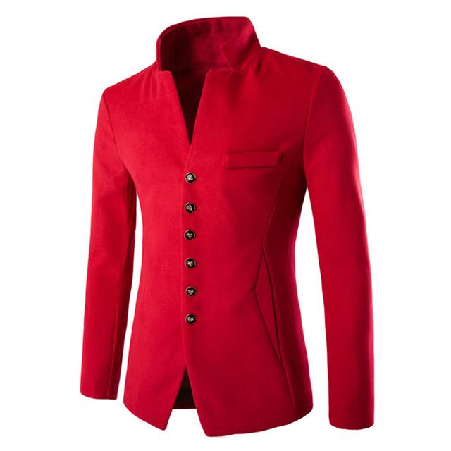 Men's 2018 velvet blazer suit new fashion Slim fit jacket 3 color single button coat casual style autumn winter outwear Suits
