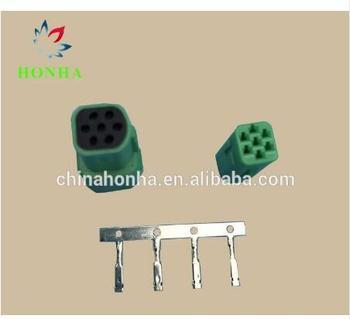 7 Pin Mini MLC male female auto waterproof wire harness connectors 917319-4 917318-4 for Tyco