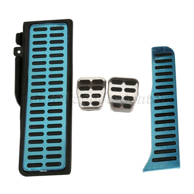 Car styling No Drilling Footrest Pedal + Clutch Pedal + Brake Pedal ...