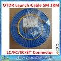 OTDR Запуск Кабельного Одномодовый 9/125um 1 км G652D LC/SC/FC/ST APC/UPC дополнительные Разъемы