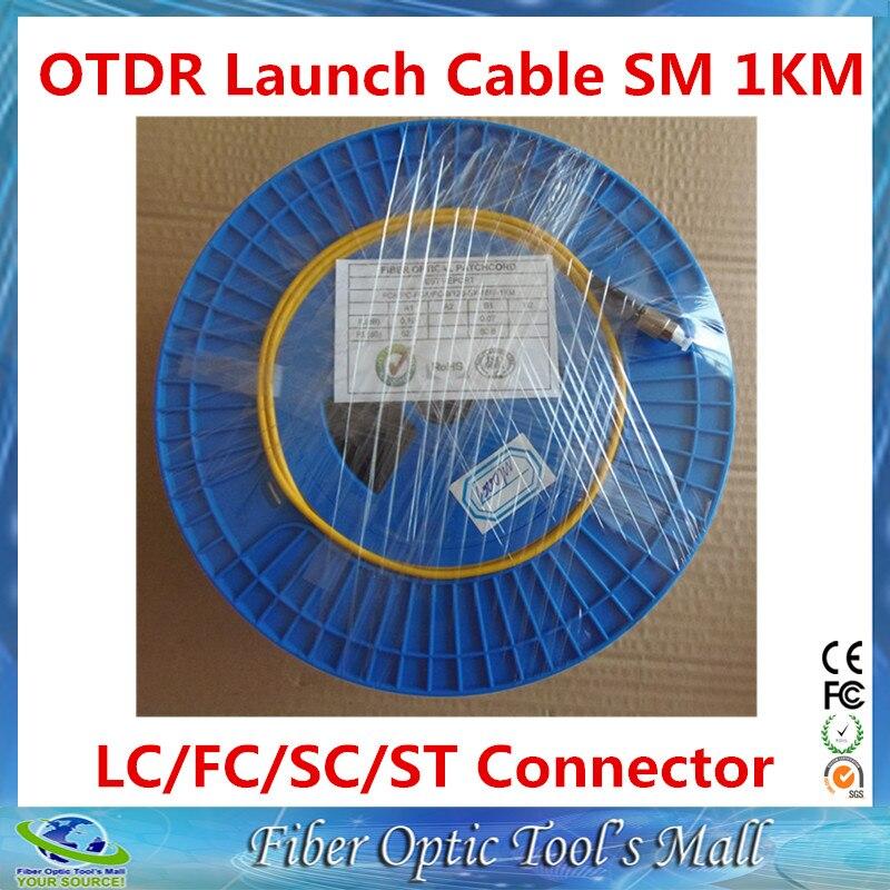 bilder für OTDR Glasfaser-testkabel Singlemode 9/125um 1 km G652D LC/SC/FC/ST APC/UPC Optional Anschlüsse