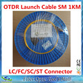 OTDR Lanzamiento Cable Monomodo 9/125um 1 km G652D LC/SC/FC/ST APC/UPC Conectores opcionales