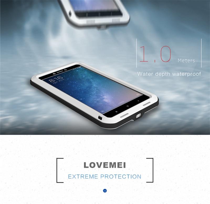 LOVE MEI Aluminum Metal Case For Xiaomi Mi Max 2 (5)
