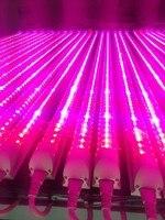 4FT 1200mm T8 Integrated Full Spectrum 24W Led Grow Light Tube Red5 Blue1 Red9 Blue1 Plant
