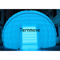 Inflatable Dome Tent White Tent For Advertising inflatable igloo tent for sale Free Shipping Promotion Wedding tent