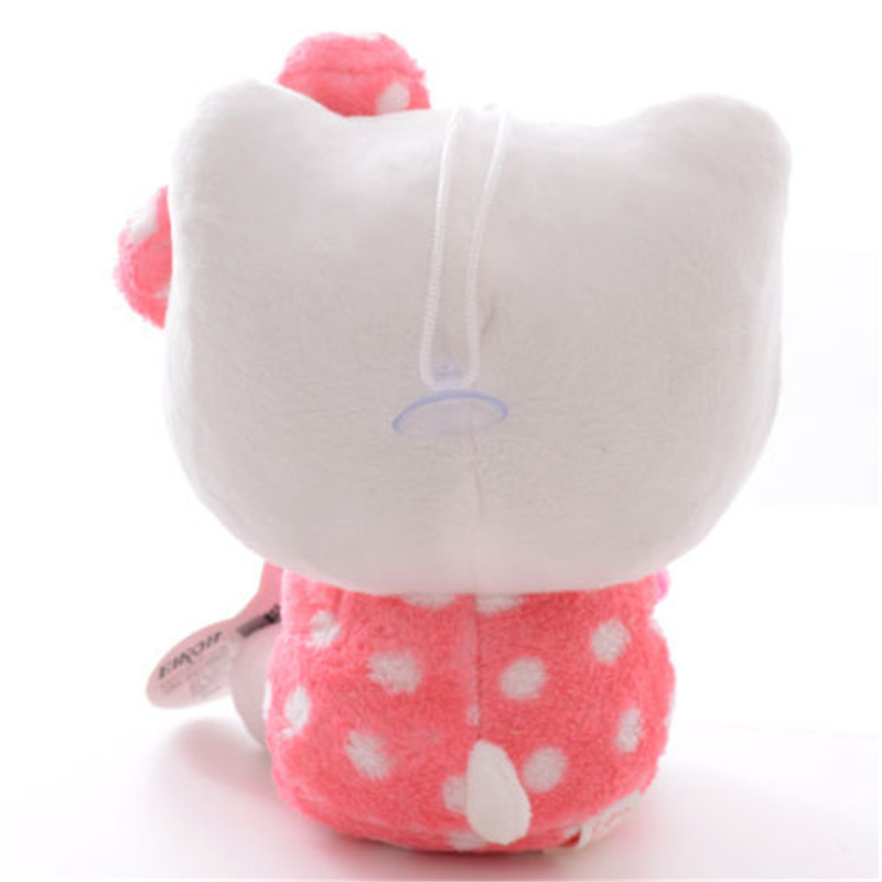 Adorable Soft Pink Dots Sleeping Hello Kitty Hold Pillow Plush Japan Ainime Kitten Cat Dolls Toys 8 New In Stuffed Animals From Hobbies On