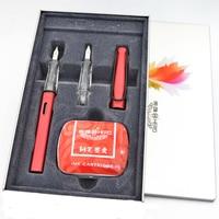 High Quality HERO Fountain Pen 0 38mm 0 5mm Nip Calligraphy Correct Writing Posture Luxury Ink