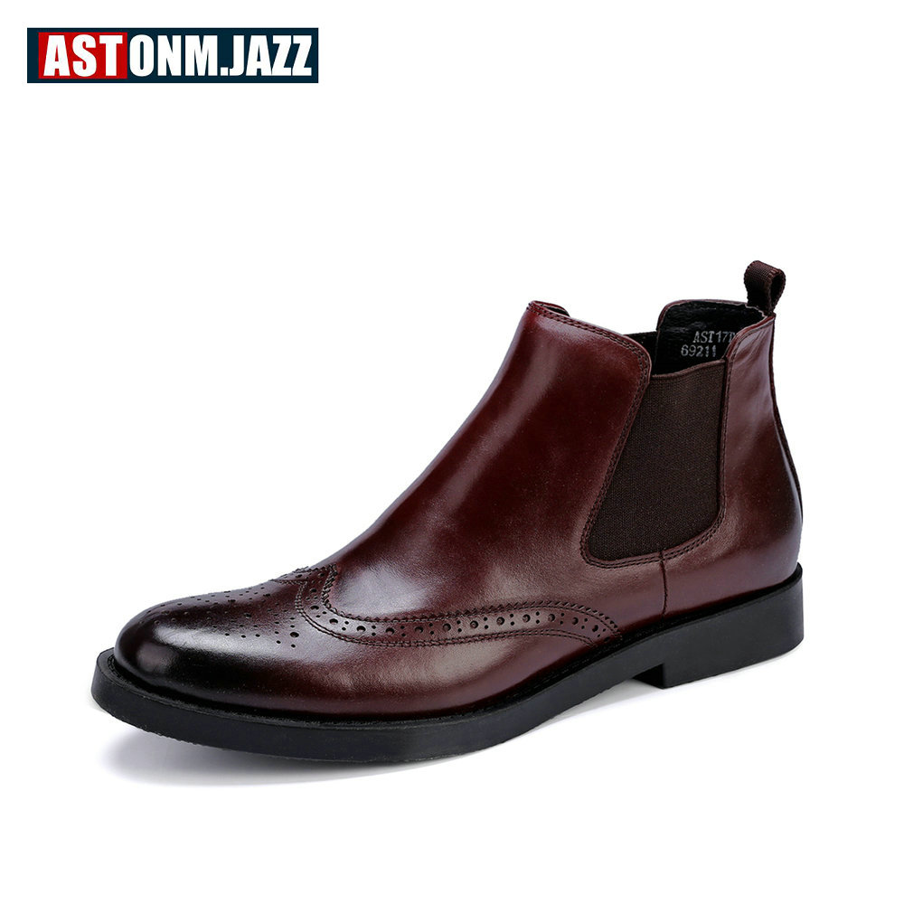 Recommend !! Big Size 45 Must Have Mens Brogue Shoes Carved Man Boots Round Toe  Boots Winter ShoesRecommend !! Big Size 45 Must Have Mens Brogue Shoes Carved Man Boots Round Toe  Boots Winter Shoes