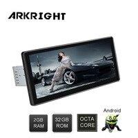 Новый 10,25 автомобильный 2 ГБ + 32 ГБ 1 Din Andriod 8,0 PX5 Octa Core Bluetooth сзади Камера wi Fi HD gps навигации мультимедийный плеер