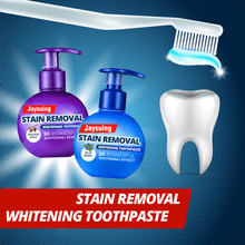 Удаление пятен отбеливающая зубная паста борьба с кровотечением Десен Зубная паста Чистка зубов, уход за полостью рта отбеливающий пресс тип зубная паста
