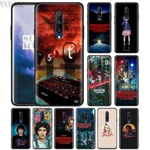 stranger things don't lie me Phone Case for Oneplus 7 7Pro 6 6T Oneplus 7 Pro 6T Black Silicone Soft Case Cover