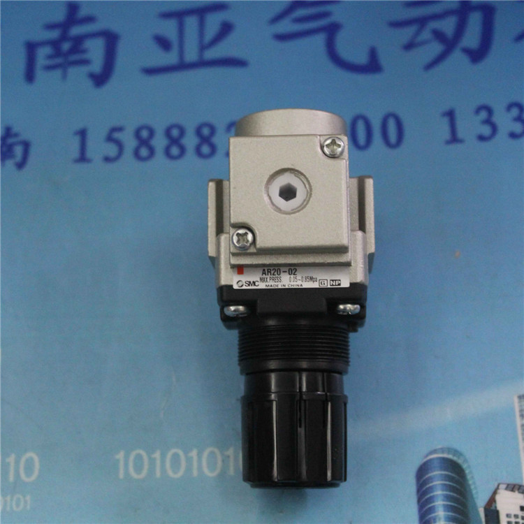 AR20-02 SMC Pressure Regulating valve Air source Regulator pneumatic component air tools 13mm male thread pressure relief valve for air compressor