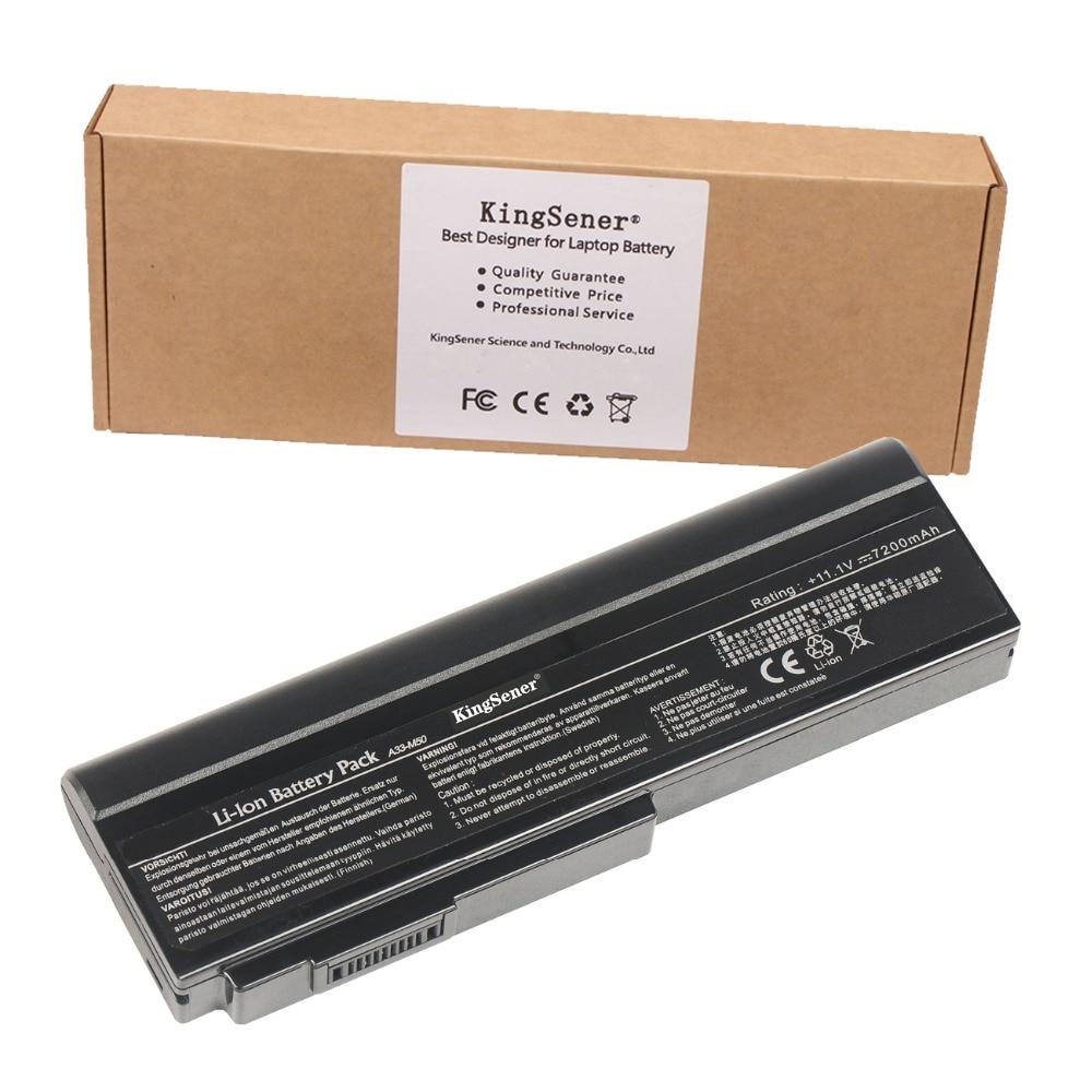 11.1V 7200mAh KingSener A33-M50 Battery for ASUS A32-M50 A32-N61 M50 M50V M50Q M50Sa M50Sr M50Sv M51E M51Kr M51Se M51Sn M51Sr аккумулятор для ноутбука oem 5200mah asus n61 n61j n61d n61v n61vg n61ja n61jv n53 a32 m50 m50s n53s n53sv a32 m50 a32 n61 a32 x 64 33 m50 n53s n53 a32 m50 m50s n53s n53sv a32 m50