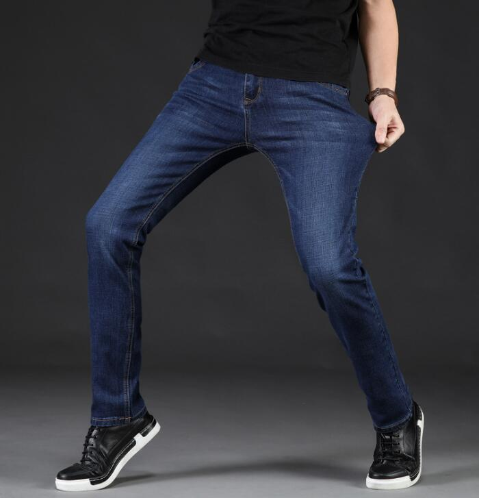 2019 Winter Thick Good Quality New Style   Jeans   For Men Hot Sales Long Pants