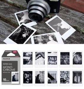 Image 4 - Fujifilm Instax Mini Film Monochrome Mono Films 10 100 sheets For Instant Mini 9 Mini 8 8 Plus 70 90 25 7s Camera SP 1 SP 2