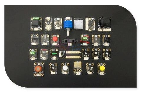 DFRobot 100% Genuine Upgraded version High Quality Gravity Series 27 Pcs Sensor Set for Arduino starter learning high quality sensor module kit set for arduino mega2560 leonardo