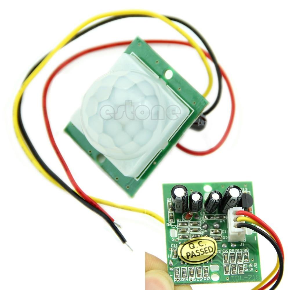 где купить NEW DC 12V Pyroelectric PIR IR Infrared IR Motion Sensor Detector Module -Y103 дешево