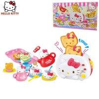 Рисунок «Hello Kitty» игрушки для детей deluxe игра Завтрак Кухня хлеб машина девочка игрушка для детей, подарок на день рождения для девочки игры