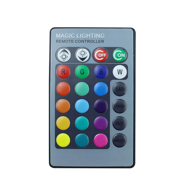 Remote Cotrolled RGB 7 Color Changes LED Party Light for KTV Xmas Party Wedding Show Club Pub