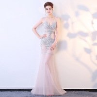 2017 Sexy Summer Dresses Backless Shoulder Costumes Womens Cosplay Bodycon Evening Party Lace Mermaid Club Long Ladies Dress
