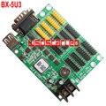 BX-5U3 USB и Последовательный порт СВЕТОДИОДНЫЙ контроллер карты 4 * HUB08 + 8 * HUB12 Одного и двухцветный СВЕТОДИОД контроллер карты 3 шт./лот