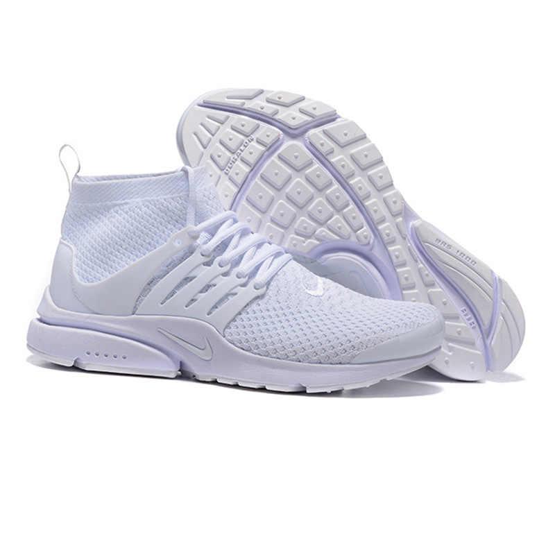 official photos 1abea 53fb7 Nike Presto Flyknit Women's Running Shoes, White, Breathable Non-slip  Abrasion Resistan Lightweight 835570 100