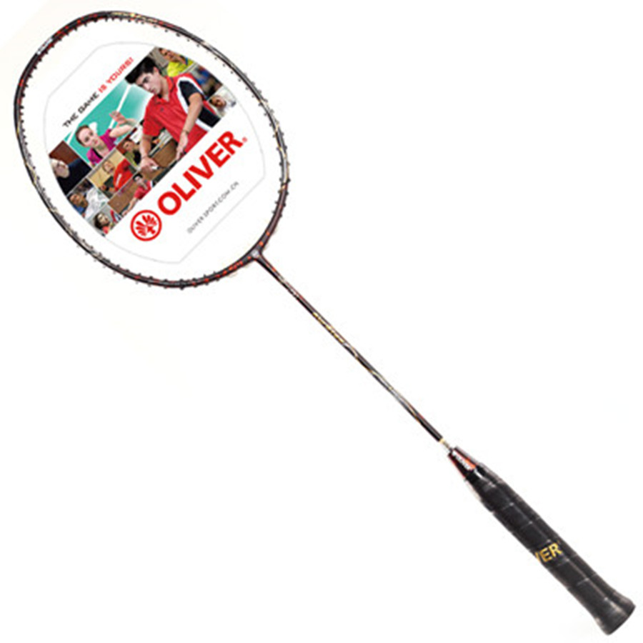 Oliver KURATAS Badminton Racket With Carbon Fiber For Professional Player, Badminton Racquets With 2 Color For You To Choose