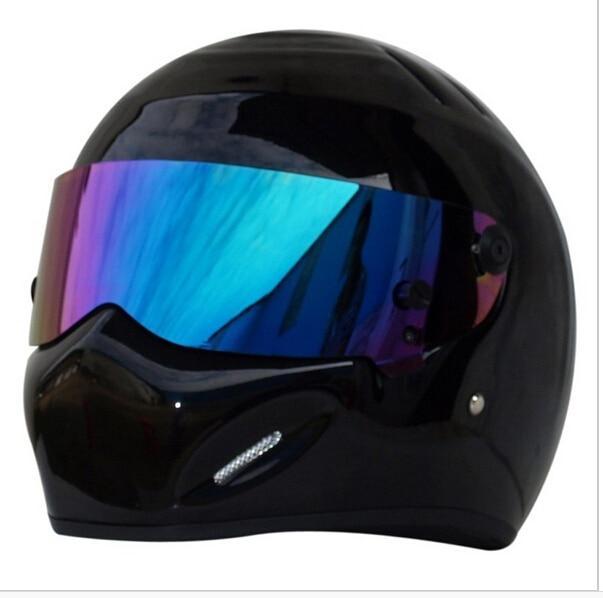 CRG картинг Мотоцикл анфас стеклопластика шлем ATV-5 Стиг СИМПСОН Звездные войны свинья capacete DOT