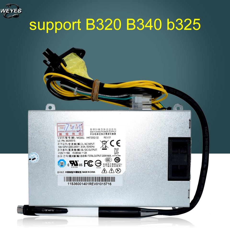 New B520 B320 FSP200-20SI HKF2002-32 APA006 250W Power Supply HKF2002-32 APA006 -EL0G DPS-250AB-71 well tested