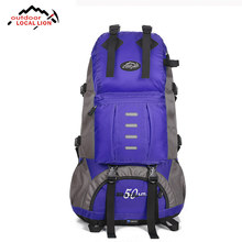 Ourdoor Local Lion Camping High Capacity Backpack Waterproof Professional Camping Climbing Hiking Traveling Sports Fishing Bags