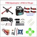 Bastidor F450 Quadcopter Frame Kit APM2.6 y 7 M GPS 2212 920KV simonk 30A 9443 apoyos