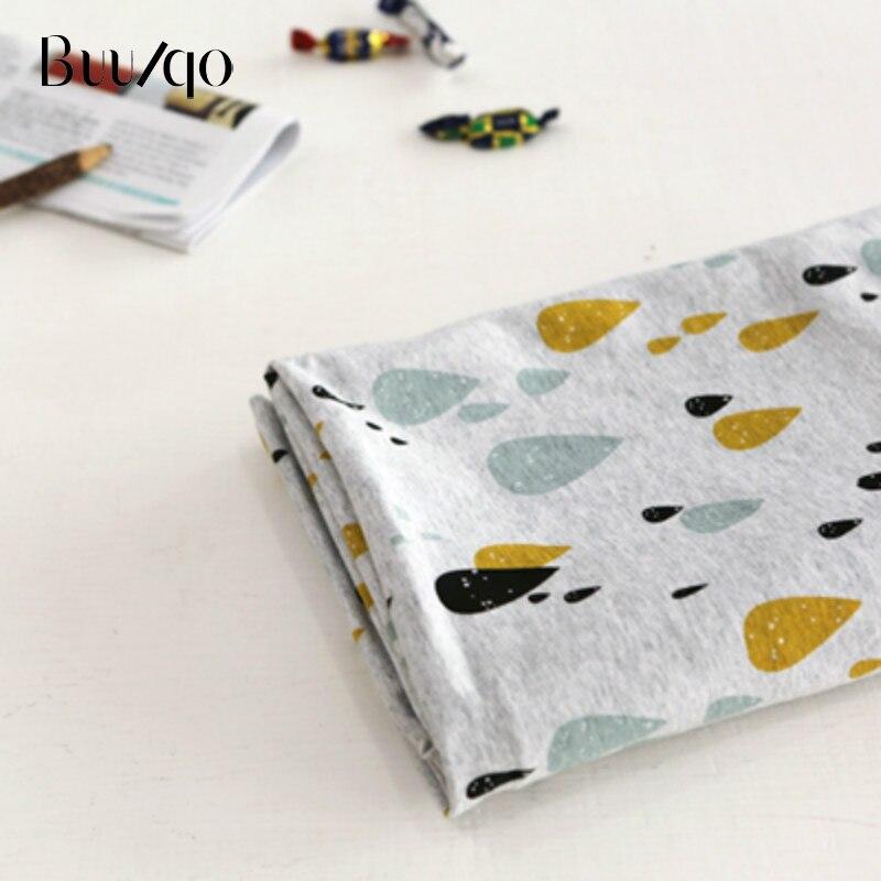 Tissu imprimé arc-en-ciel 50*40cm | Tissu en coton tricoté pour enfants, bricolage, couture et cousue, matériaux pour bébé et enfant