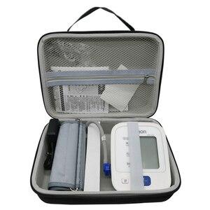 Image 2 - Caja de cubierta dura de Nylon EVA para Omron 2018 71, Monitor de presión arterial de brazo inalámbrico, bolsa de almacenamiento de viaje, novedad de 7124
