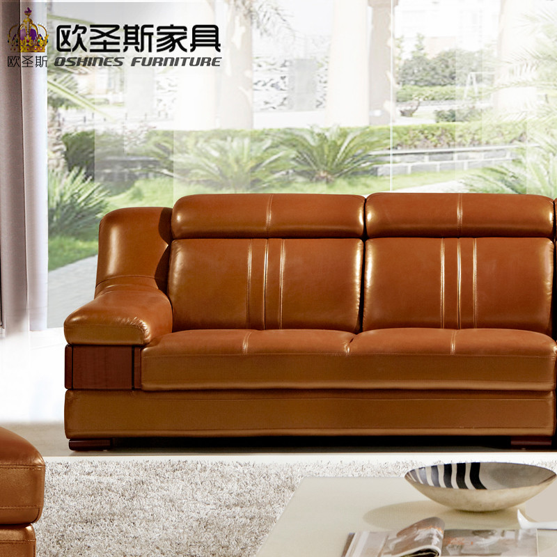 Wooden Decoration L Shape Sofa Furniture Modern Lobby Sofa Design China  Buffalo Leather Funitures Sofa Sets For Living Room 632 In Living Room  Sofas From ...