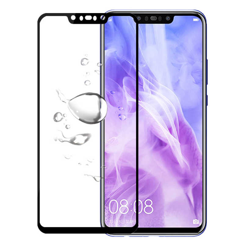 Tempered Glass Protector For Huawei Honor 8c 9 lite V9 Y7 y6 Y9 Prime pro 2018 MATE 20 Lite 8x 6c V9 P case Film Cover
