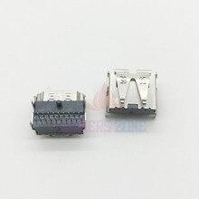 Conector original da relação do soquete do porto de hdmi para playstation 3 ps3 fino CECH 3XX 3000 porta de hdmi