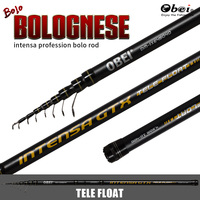 bolognese fishing rod telescopic high carbon bolo float portable travel Ultra Light 3.8m 4.5m 5.2m 10 40g obei free shipping
