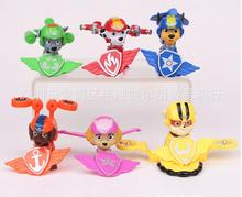 Free shipping new 6 styles paw anime puppy patrol toys air patroller Team Action Figure toys Christmas gifts toys for children
