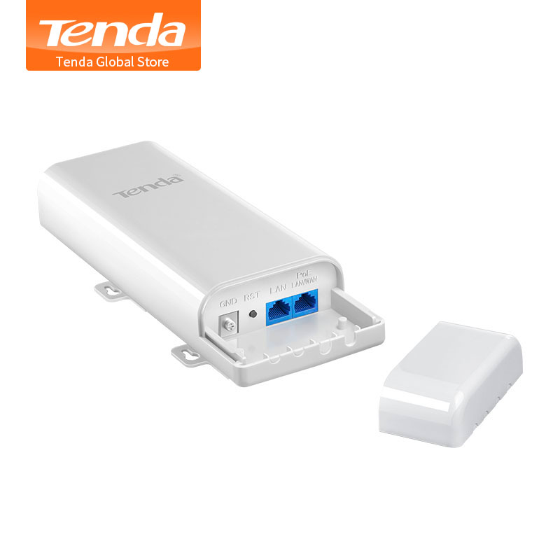 Tenda O3 2.4GHz 150Mbps outdoor Point to Point CPE PoE Injector supported AP/Station/WISP 12dBi directional antenna Covering 5km machine