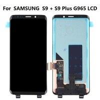 Super AMOLED для 5,8 samsung Galaxy S9 + S9 плюс ЖК дисплей Дисплей Сенсорный экран планшета Ассамблеи для samsung S9 плюс g965 g965f ЖК дисплей s