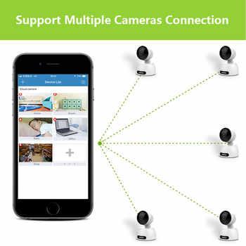 TakTark wireless HD WiFi IP camera video surveillance indoor wi-fi baby monitor network nanny sitter Night Security